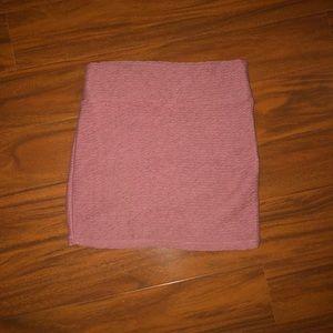SOLD Cotton On Mauve Bodycon Skirt